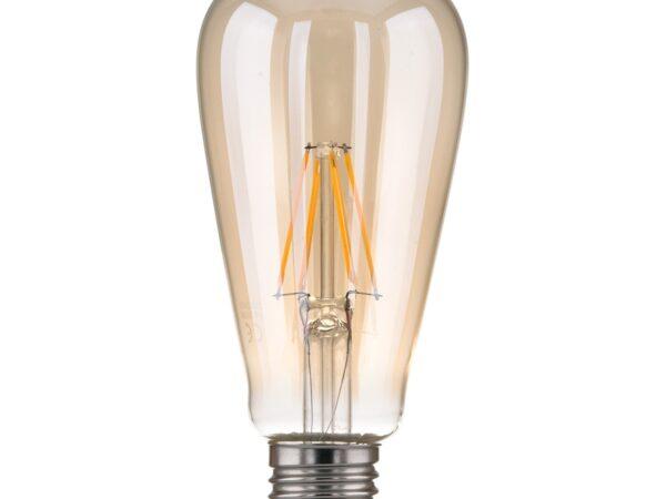 Classic FD 6W 3300K E27/ Светодиодная лампа Classic FD 6W 3300K E27 (ST64 тонированный)