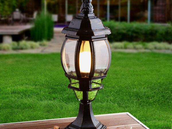 GL 1001S / Светильник садово-парковый 1001S черное золото / 9913-D