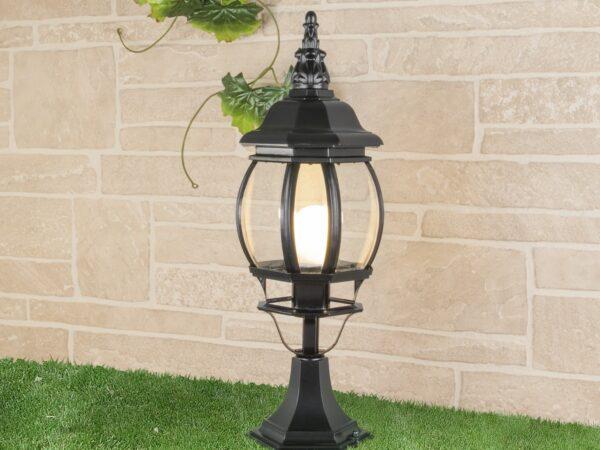 GL 1001S / Светильник садово-парковый 1001S черный / 9913-D