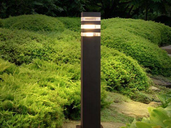1550 TECHNO / Светильник садово-парковый черный