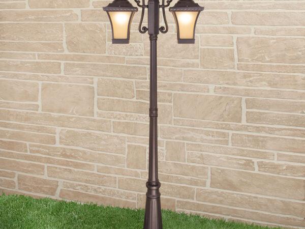 GLXT-1408F/2 / Светильник садово-парковый Libra F/2 венге