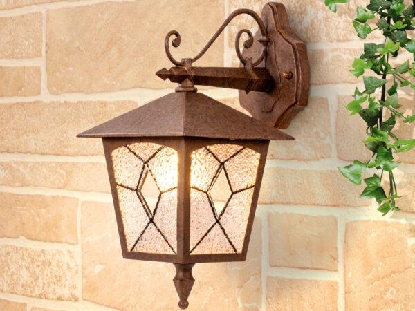GL 1012D / Светильник садово-парковый Lyra D брауни (GL 1012D)