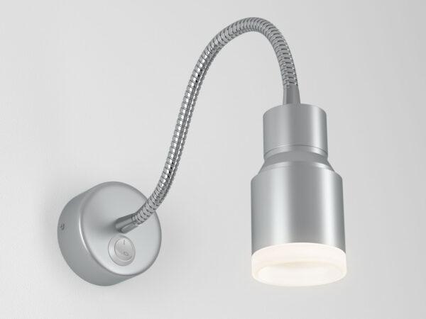 MRL LED 1015 / Светильник настенный светодиодный Molly серебро