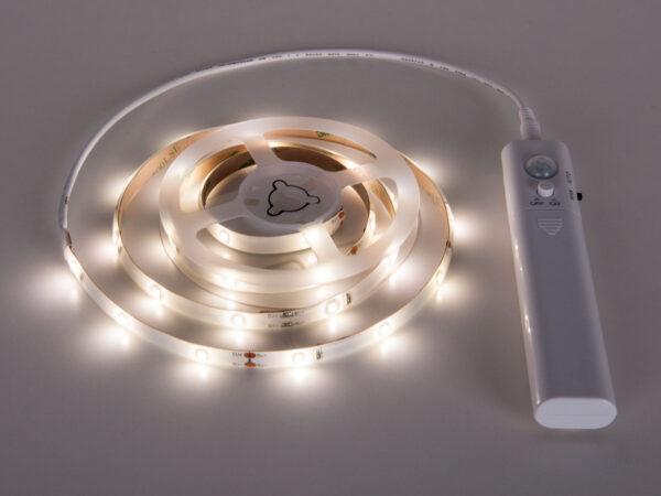 SLS 01 CW IP 65 / Лента светодиодная Набор светодиодной подсветки 6V 1m 2,4W IP65 с датчиком движения