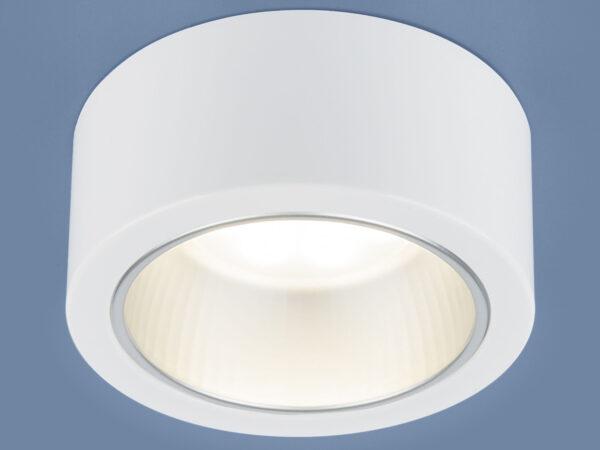 1070 GX53 / Светильник накладной WH белый