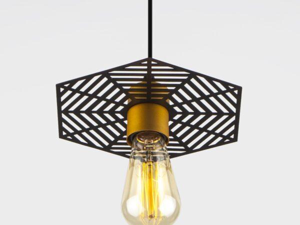 50167/1 / подвесной светильник / бронза/черный