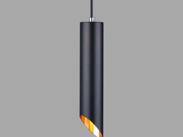 7011 MR16/ Светильник накладной BK/GD черный/золото