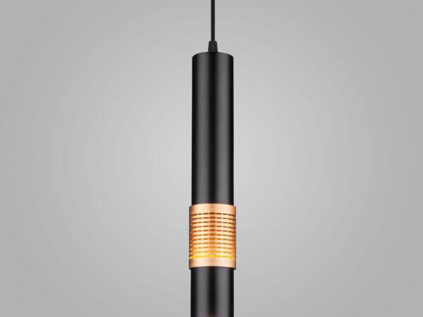 DLN001 MR16 / Светильник светодиодный стационарный черный матовый/золото