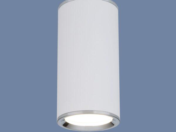 DLN101 GU10 / Светильник накладной WH белый