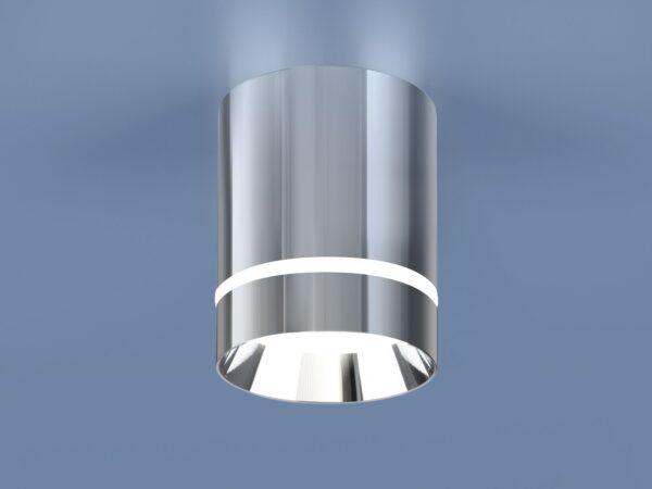 DLR021 9W 4200K / Светильник светодиодный стационарный хром