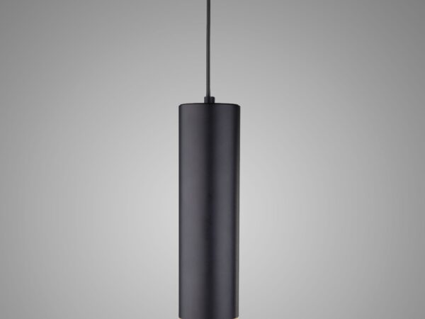 DLR023 12W 4200K / Светильник светодиодный стационарный черный матовый