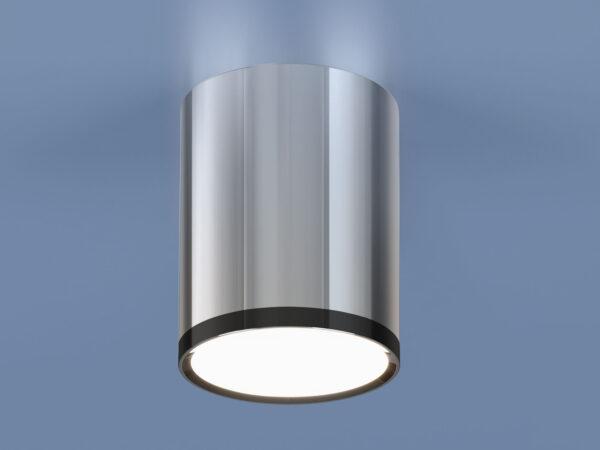 DLR024 6W 4200K / Светильник светодиодный стационарный хром/черный хром