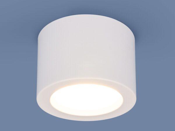 DLR026 6W 4200K / Светильник светодиодный стационарный белый матовый
