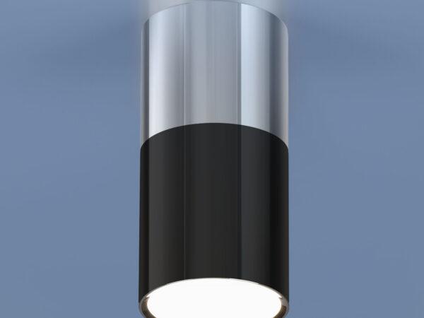 DLR028 6W 4200K / Светильник светодиодный стационарный хром/черный хром