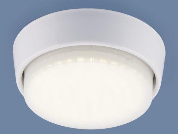 1037 GX53 WH / Светильник накладной белый