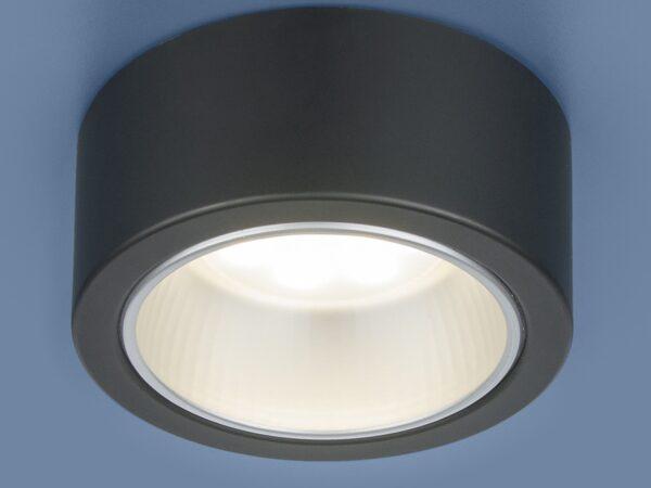 1070 GX53 / Светильник накладной BK черный