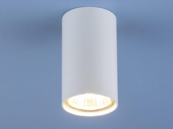 1081 GU10 / Светильник накладной WH белый