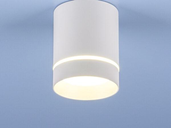 DLR021 9W 4200K / Светильник светодиодный стационарный белый матовый