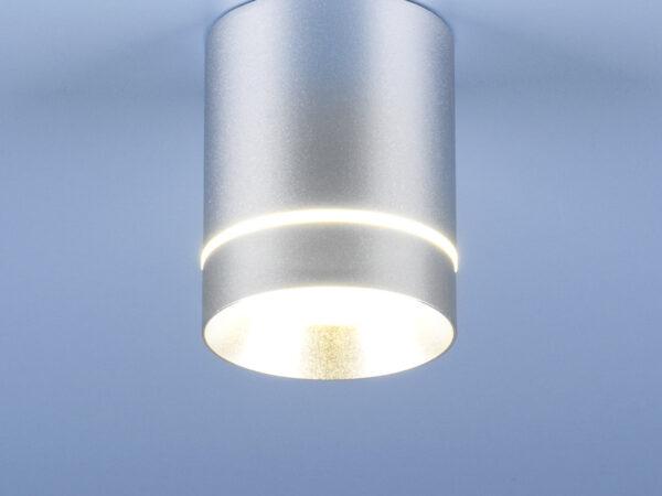DLR021 9W 4200K / Светильник светодиодный стационарный хром матовый