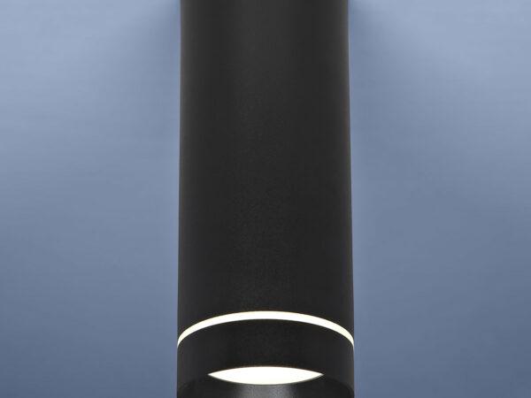 DLR022 12W 4200K / Светильник светодиодный стационарный черный матовый