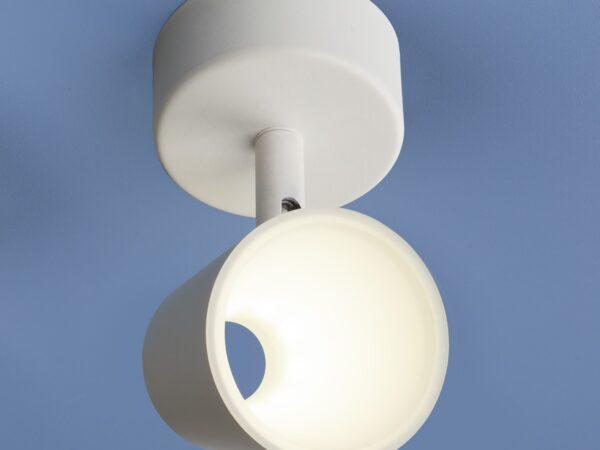 DLR025 5W 4200K / Светильник светодиодный стационарный белый матовый