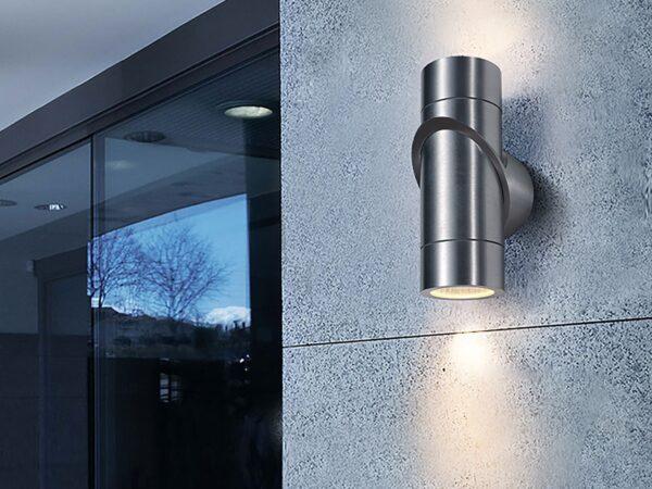 1553 TECHNO LED / Светильник садово-парковый со светодиодами VORTEX