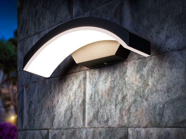 1671 TECHNO LED / Светильник садово-парковый со светодиодами черный Asteria D
