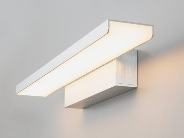 MRL LED 16W 1009 IP20 / Светильник настенный светодиодный Sankara LED серебристая