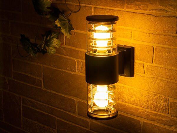 1407 TECHNO / Светильник садово-парковый серый