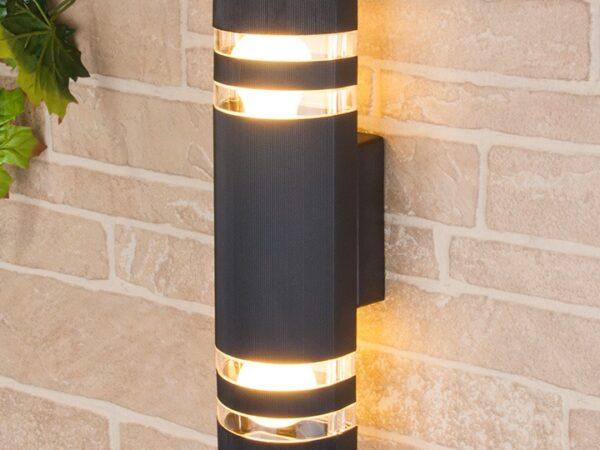 1443 TECHNO / Светильник садово-парковый черный