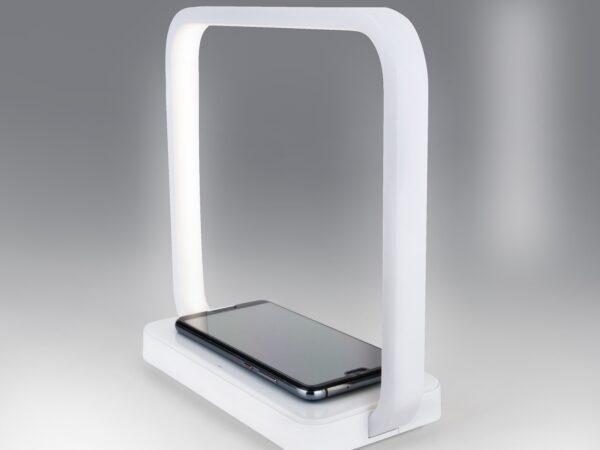 80502/1 / настольный светильник / белый