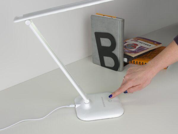 TL90200 / Светильник светодиодный настольный Alcor белый