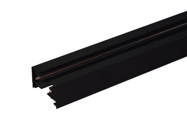 TRL-1-1-100-BK / Шинопровод электрический  для светильников Однофазный шинопровод  черный (1м.) /
