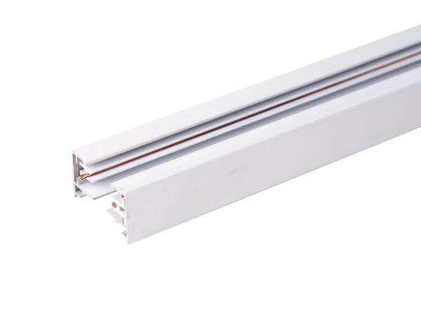 TRL-1-1-100-WH / Шинопровод электрический  для светильников Однофазный шинопровод  белый (1м.) /