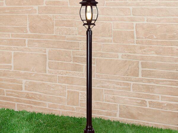 Уличный светильник 1043 черный 100W