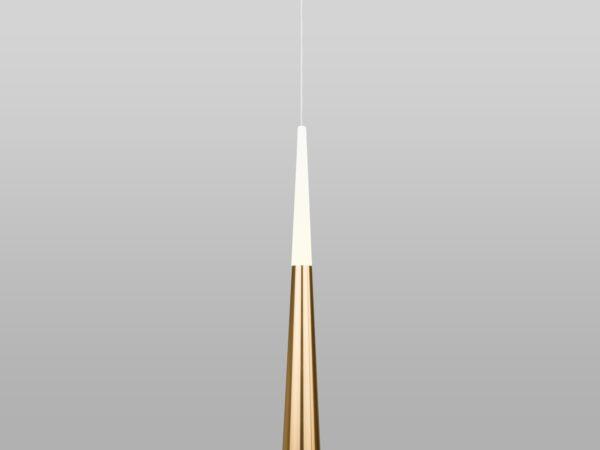 DLR038 7+1W 4200K / Светильник светодиодный стационарный золото