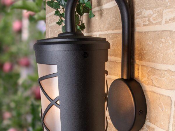 GL 1017D / Светильник садово-парковый Premier D черный