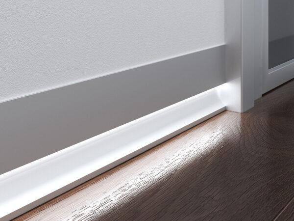 7023259 / Профиль для светящегося плинтуса и встраиваемых светильников Линия света