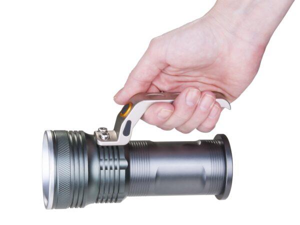 FLS12-15,5-7W 300m ChC / Ручной фонарь аккумуляторный Agent