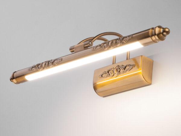 MRL LED 8W 1010 IP20 / Светильник настенный светодиодный Schelda LED бронзовая