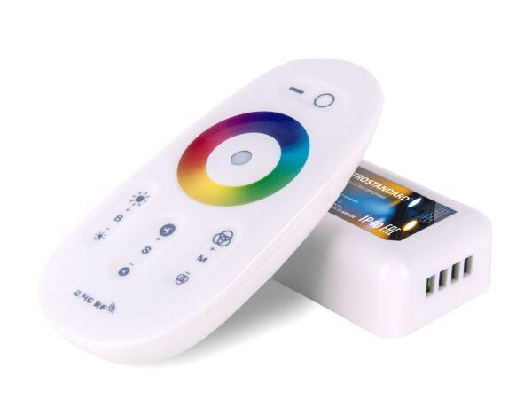 LSC 010 / Контроллер для осветительного оборудования Контроллер RF RGB 18A сенсорный