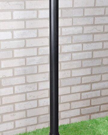 столб 120см / Светильник садово-парковый черный, арт. A022922