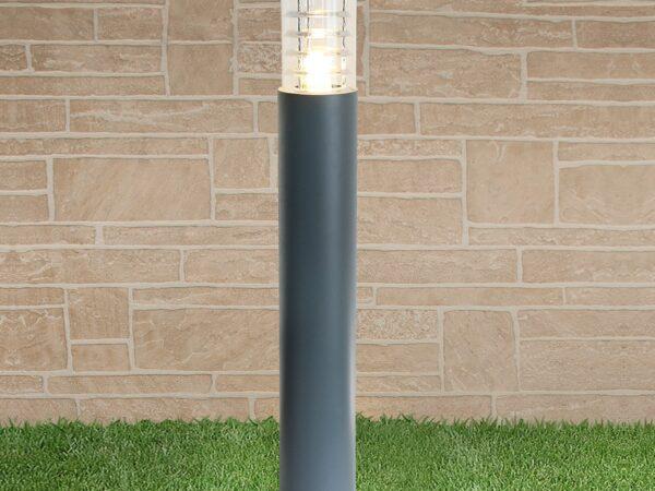 1507 TECHNO / Светильник садово-парковый серый