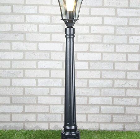 Capella F / Светильник садово-парковый черный