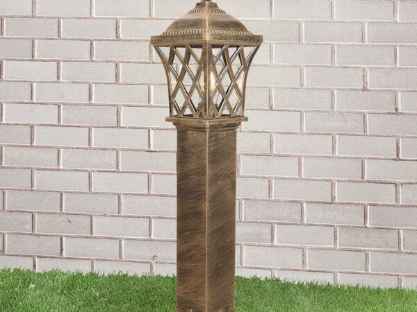GL 1018F / Светильник садово-парковый Cassiopeya F черное золото