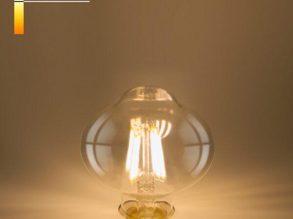 FDL 10W 4200K E27/ Светодиодная лампа L80 прозрачный