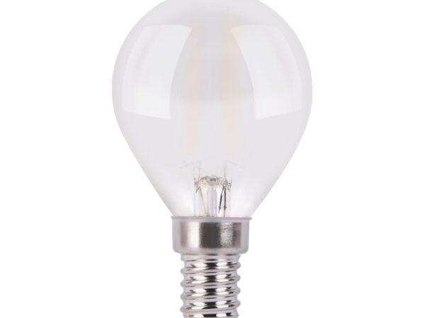 Classic F 6W 4200K E14/Светододная лампа Mini Classic F 6W 4200K E14 (G45 белый матовый)