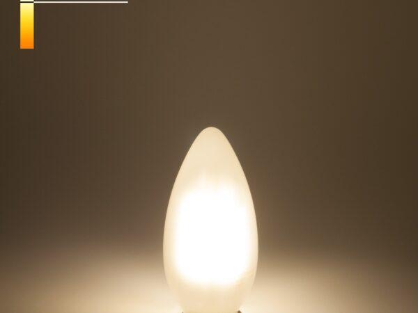 BL113/Светодиодная лампа Свеча BL113 7W 4200K E14 (C35 белый матовый)