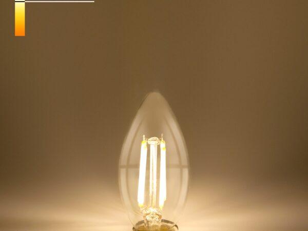 BL131 / Светодиодная лампа Свеча BL131 7W 4200K E14 (C35 прозрачный)