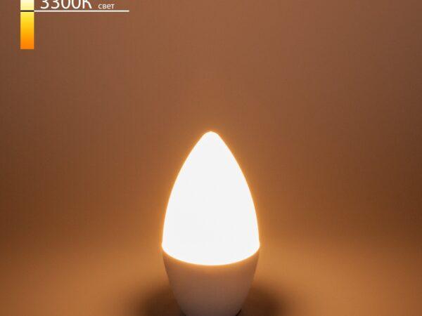 СD LED 6W 3300K E14 / Светодиодная лампа Свеча СD LED 6W 3300K E14